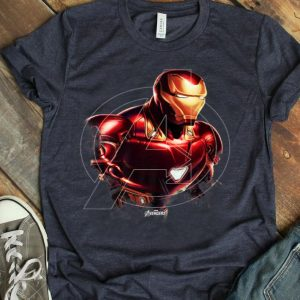 Marvel Avengers Endgame Iron Man Portrait Graphic shirt