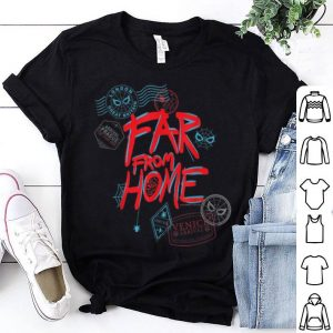 Marvel Spider-Man Far From Home Passport Stamps shirt