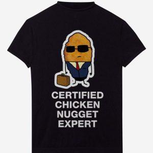 Certified Chicken Nugget Expert shirt