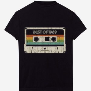 Vintage Best Of 1969 50th Birthday Cassette shirt