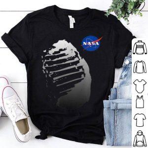 Moon Boot Print Vintage NASA Approved Apollo 11 50th shirt