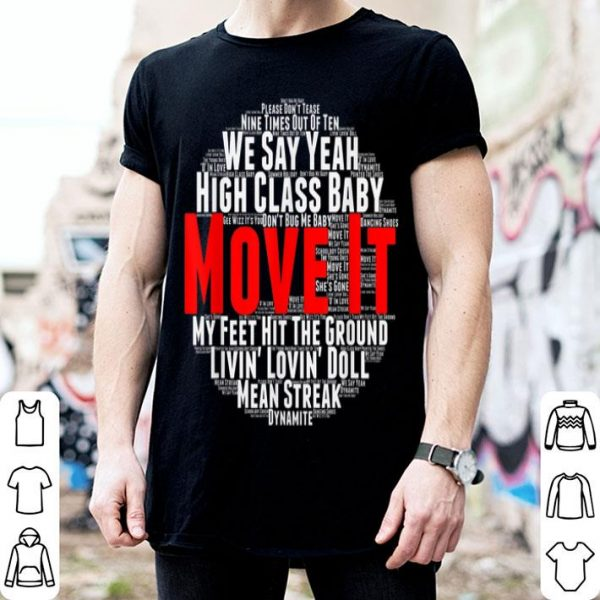 Move It Classic British Rock And Roll Music shirt