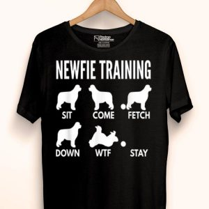 Newfie Training Newfoundland Dog Tricks shirt
