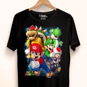 Nintendo Super Mario Luigi Bowser Spray shirt