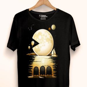 Pac Moon Pacman And The Moon shirt
