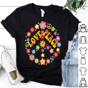 Peace Love Krawatte Sterben Hippie Love Is Love shirt