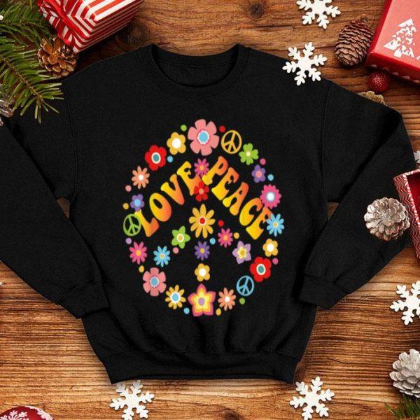 Peace Love Krawatte Sterben Hippie Love Is Love shirt