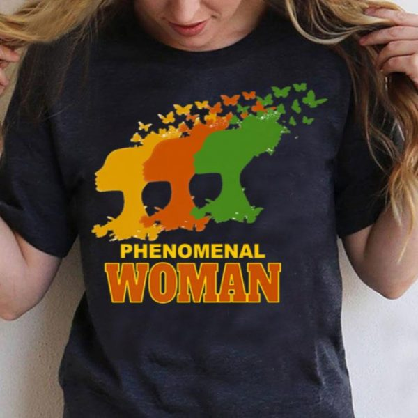 Phenomenal Woman African American shirt