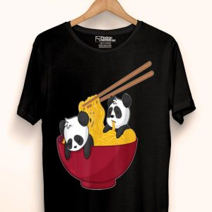 Ramen Noodles Panda Bear Kawaii Anime Japanese shirt