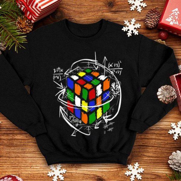 Rubik Cube Formulas Math Science Lover shirt