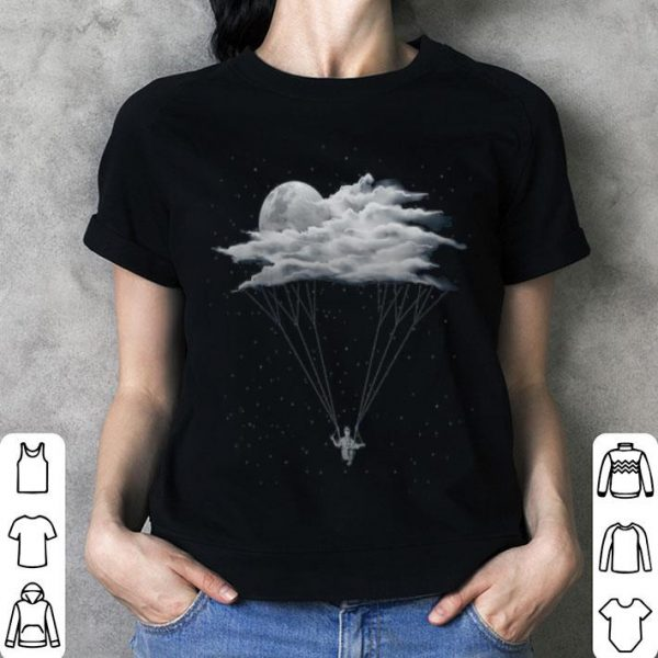 Skydiving With Cloud Parachute shirt