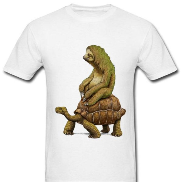 Speed is Relative Sloth And Turtle Moving Slowly shirt