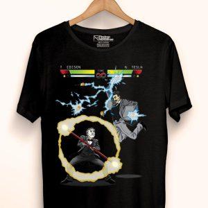Stooble Men's Edison vs Tesla The Current War shirt