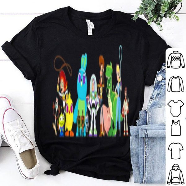 Toy Story 4 Group of Friends Disney Pixar shirt
