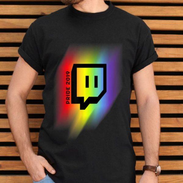 Twitch Unisex LGBT Gay Pride 2019 shirt