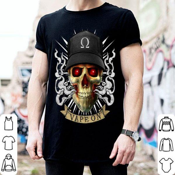 Vaping Skull E-Cigarette Cloud Chaser Vape shirt