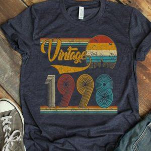Vintage 1998 Classic 21st Birthday Gift shirt