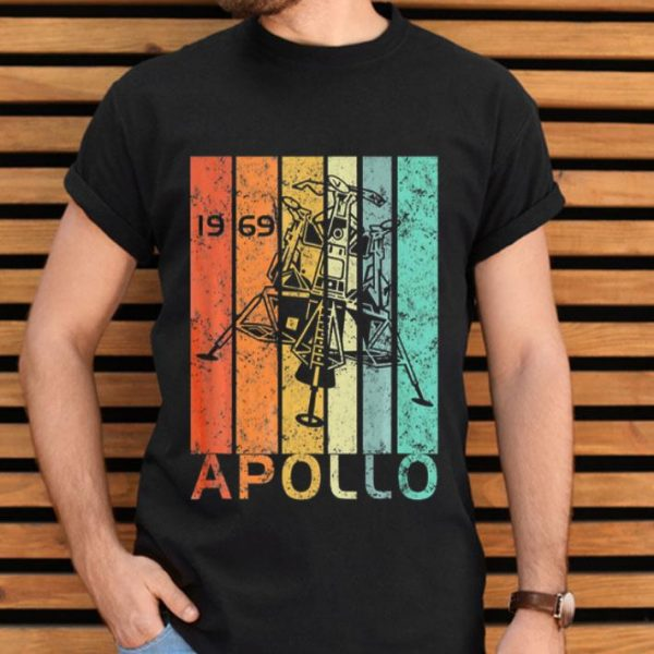 Vintage 50th Anniversary Apollo 11 Moon Landing Astronaut 1969 shirt