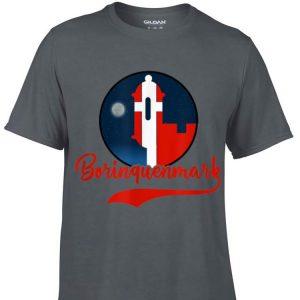 Aweome Borinquen Mark Puerto Rico Denmark Flag shirt