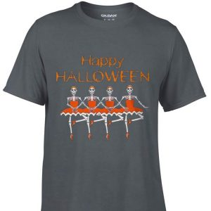 Aweome Happy Halloween Skeleton Bale shirt