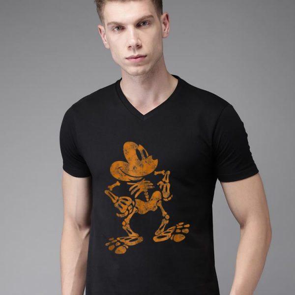 Awesome Disney Mickey Mouse Halloween Skeleton shirt
