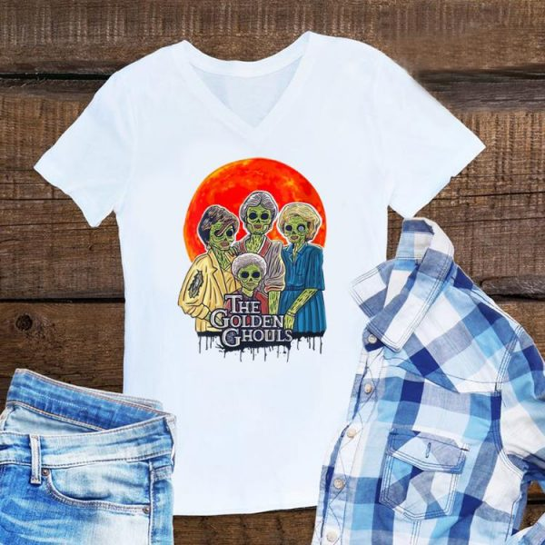 Awesome Golden Girls Vintage The Golden Ghouls shirt