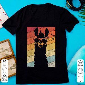 Awesome Llama Alpaca Vintage shirt