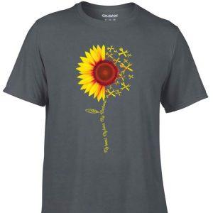 Awesome My Heart My Hero My Mechanic Sunflower shirt