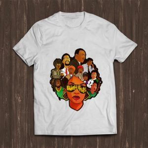 Awesome Powerful Roots Black History Month I Love My Roots shirt