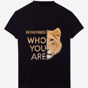 Awesome Remember Who You Are Lion King shirt