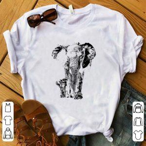 Awesome Save The Elephants Elephant Animal Lover shirt