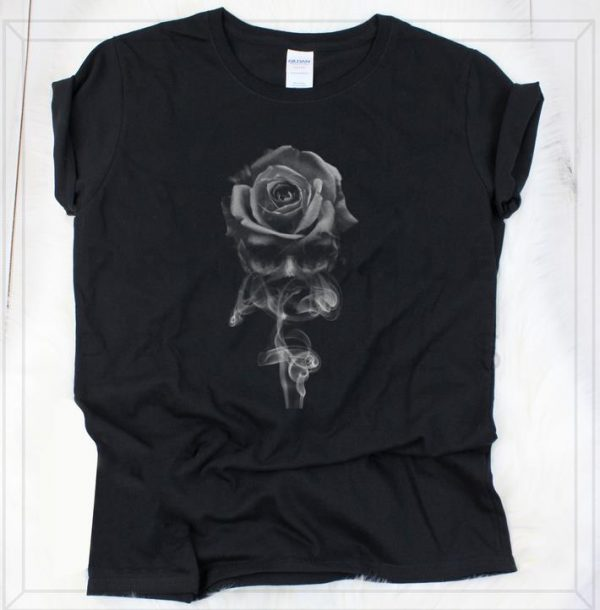 Awesome Skull Rose Smoke shirt