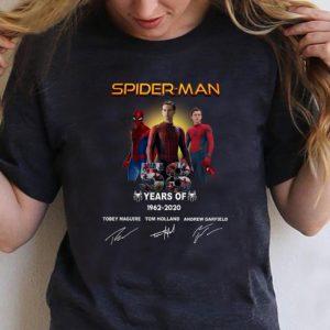 Awesome Spider Man 58 Years Anniversary 1962-2020 Signature shirt
