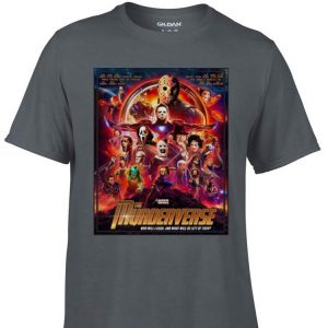 Awesome The Murderverse Who Will Laugh shirt