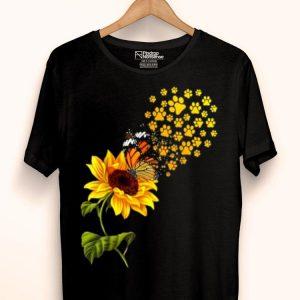 Dog Paw Sunflower You Are My Sunshine shirt