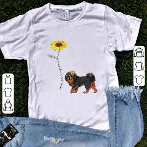 Hot Sunflower You Are My Sunshine Tibetan Mastiff shirt