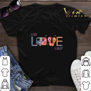 Live love camp flip flop shirt sweater