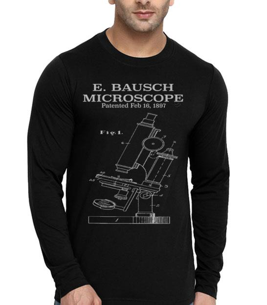 Mikroskop Patent Art Mircoscope shirt