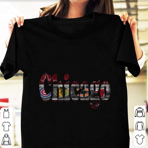 Nice Chicago Proud Sports Fan shirt