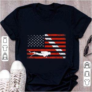 Nice Diver Down American Flag shirt
