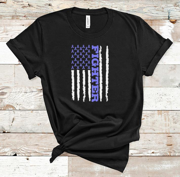Nice Fighter Cancer Awareness American Flag shirt 1 - Nice Fighter Cancer Awareness American Flag shirt