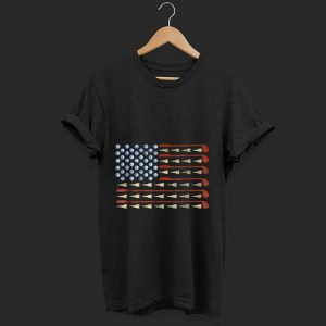 Nice Golf American Flag shirt