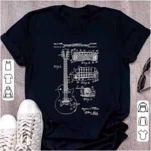 Nice Guitar Patent Print 1955 shirt