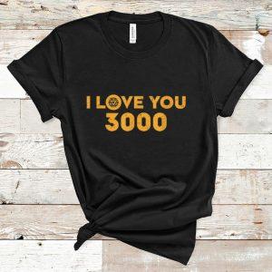 Nice Marvel Avengers Endgame Iron Man I Love You 3000 shirt