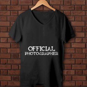 Nice Official Photographer shirt