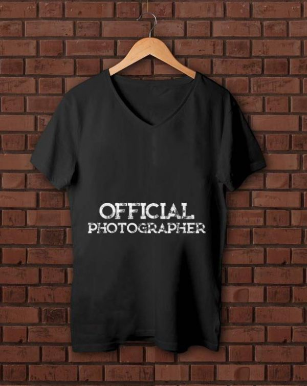 Nice Official Photographer shirt