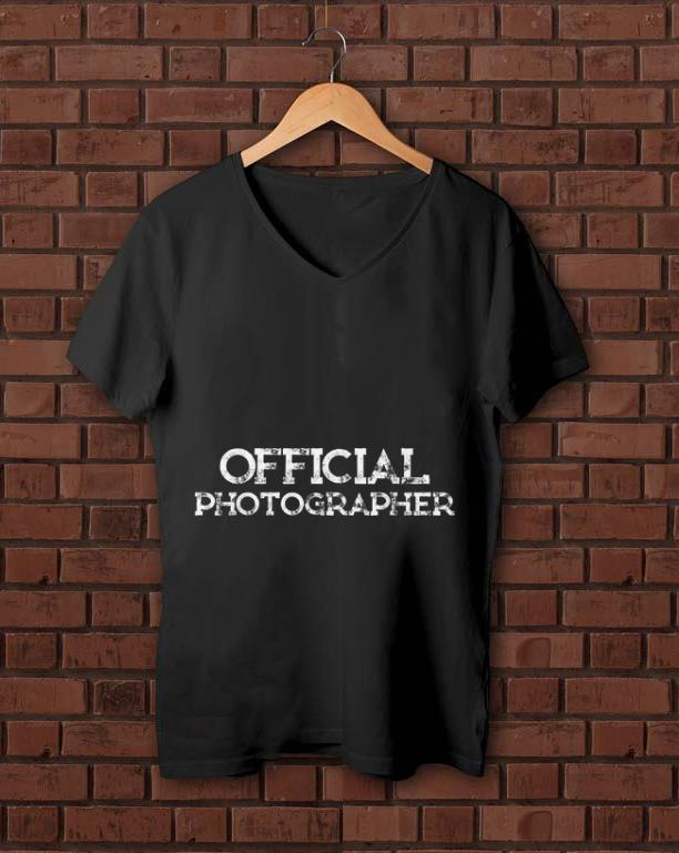Nice Official Photographer shirt 1 - Nice Official Photographer shirt