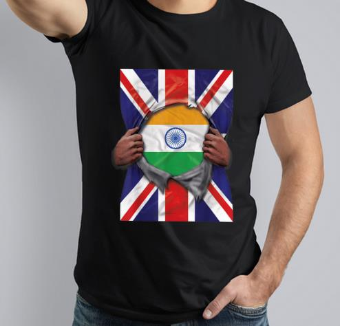 Nice Proud Indian From Britain shirt
