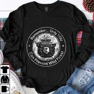 Nice Remember Only You Can Prevent Wild Fires Bear shirt