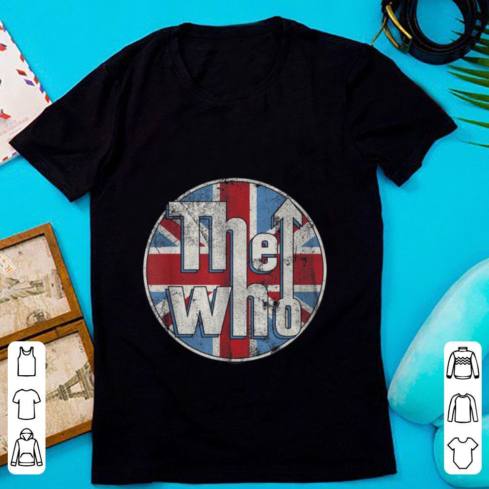 Nice The Who Union Jack Circle Logo shirt 1 - Nice The Who Union Jack Circle Logo shirt